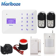 Cheap keypad wireless, Buy Quality keypad lcd display directly from China keypad display Suppliers: Marlboze A2 French Hungarian Russian Spanish Voice Wireless Wired Home Security GSM Alarm System LCD Display Touch Keypad