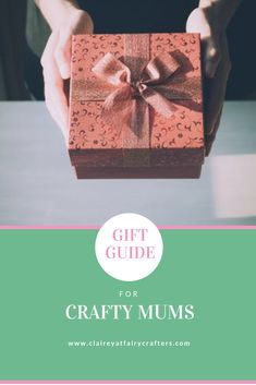 Crafty Mum's Gift Guide - Clairey at Fairy Crafters Light Up Crochet Hooks, Personalized Gifts, Handmade Gifts, Scrapbook Examples, Craft Stash, Vintage Cups, Welcome Gifts, New Crafts