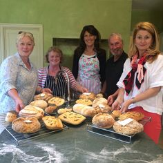 Successful Bakers after bread class !