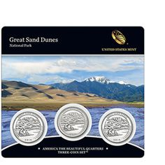 2014 America the Beautiful Quarters Three-Coin Set™ – Great Sand Dunes National Park