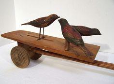 Folk art birds