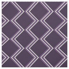 Halloween fabric with geometric zigzag line
