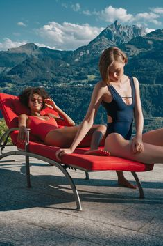 seamless MARGOT belize blue and red salamander swimsuit - swiss airs Swiss Air, Swimsuits, Bikinis, Swimwear, Belize, Sun Lounger, Swimming, Italy, Outdoor Decor