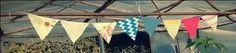 banderines coloridos. myvioletdesigns.com