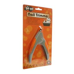 Go Go Nail Trimmer by GoGo - When you hear the clitter-clatter of nails on your hard floors then you know it's time to trim your pup's nails!  These dog nail trimmers have heavy duty stainless steel blades for quick and easy clipping.  $9.99 #twobostons #gogo