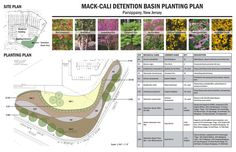 LANDSCAPE ARCHITECTURAL DESIGN – SITE DESIGN, Student Entry ~  Honor Award ~   PLANTING DESIGN FOR GREEN INFRASTRUCTURE ~  New Jersey, various locations ~  REBECCA COOK, RUTGERS UNIVERSITY