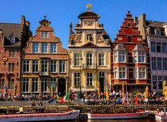 Exploring Ghent #visitgent Belgium travel Europe tourism cycling