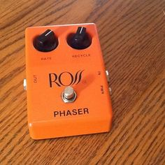 Vintage Ross Phaser Effects Pedal USA Excellent
