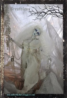 Breathless.. Ghostly Spirit Ball jointed doll by Sutherland