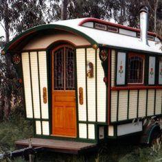Steampunk Victorian-Style Bus - House on Wheels — 10 Home, Homes on the Road — Bob Vila - Bob Vila