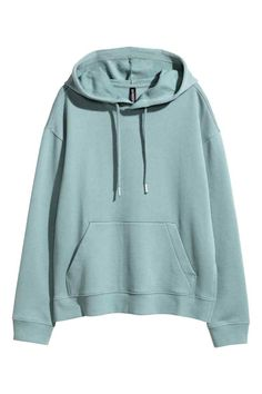 Soft sweatshirt with a drawstring hood, kangaroo pocket, ribbing at cuffs and hem, and slits at sides. Lazy Outfits, Casual Outfits, Emo Outfits, Spring Outfits, Stylish Hoodies, Comfy Hoodies, Cheap Hoodies, Hoodie Outfit, Pullover Hoodie