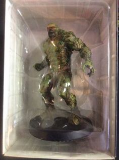 Eaglemoss-DC-Super-Hero-Collection-5-034-Swamp-Thing-Lead-Figure-Repaired