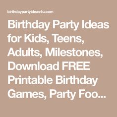 Birthday Party Ideas for Kids, Teens, Adults, Milestones, Download FREE Printable Birthday Games, Party Food Ideas, over 50 Party Themes to explore Birthday Games, Birthday Parties, Minion Invitation, Frozen Birthday Invitations, 50 Party, Party Themes, Party Ideas, Custom Invitations, First Birthdays