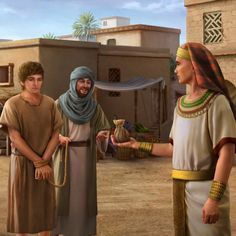 Bible Study Topics--Spiritual Growth-Bible Study The Bible offers the best possible advice on life's most difficult questions Find out how practical the Bible really is by selecting a topic that interests you. Scripture Painting, Bible Art, Jacob Bible, Joseph In Egypt, Ancient Egyptian Architecture, Jesus Photo, Ancient Egypt Art, The Bible Movie, Bible Illustrations