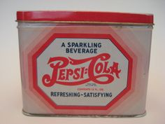 pepsi cola recipe tin!