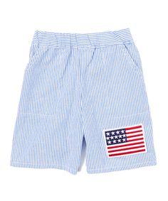 Blue Flag Shorts - Infant & Toddler