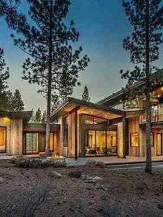 mountain modern prefab | Outside view of home | Mountain modern