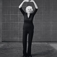 """Esther Tuttle, age 99: """"Your body is your instrument, and you have to take beautiful care of it. I do one hour of yoga and walk for 30 minutes every day. You really enjoy life a lot more if you're healthy. And I never leave home without putting on lipstick—it makes me feel pretty!"""""""