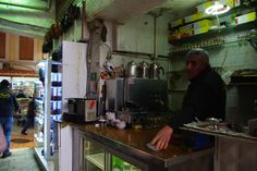 Making tea in Bazaar