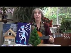 Jack Frost rapped on the windowpane - a traditional rhyme - YouTube