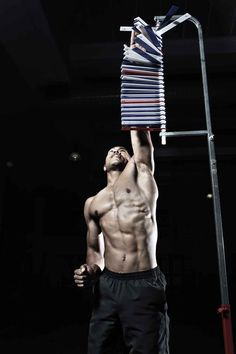 Take On This Week's Friday Fitness Test: The Vertical Jump You Fitness, Mens Fitness, Friday Workout, Manhattan, Physics, Challenges, Goals, Male Fitness, Men's Fitness