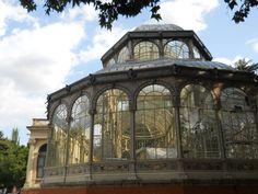 Crystal Palace is located in the Royal Park Bom Retiro in Madrid, Spain.