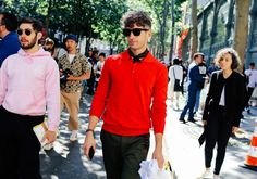 Phil Oh's Best Street Style Pics From the Spring 2017 Men's Shows in Paris