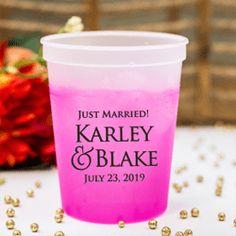 16oz. Wedding Mood Cup