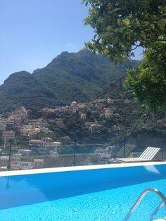 Villa Fiorentino Positano The Amalfi coast Italy Heaven on Earth The infinity pool <3
