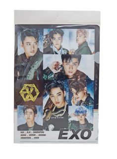 EXO Goods  K Pop Star Plastic File Folder 1 pcs #EXO
