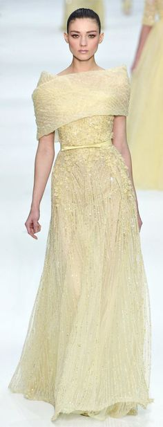 Elie Saab - More pastel ideas here: http://mylusciouslife.com/prettiness-luscious-pastel-colours/