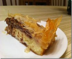 "Market Grille has this ""Baklava Cheesecake"" & it's so good it will make you cry!!!  Hehehe......."