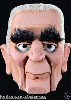 Mad Monster Party - Baron Von Frankenstein Halloween Mask
