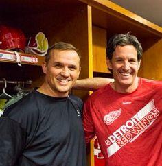 Yzerman & Shanahan legendary Red Wings