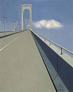 Whitestone Bridge, 1939 Ralston Crawford (1906-1978)