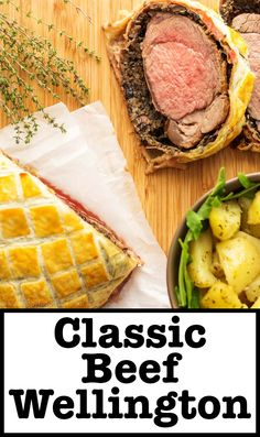 are looking for a fancy dinner idea, look no further! Beef Wellington ...