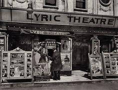Berenice Abbott  Lyric Theatre, New York, 1936  30 x 40 Silver Gelatin Photograph