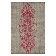 Espallier 5x8 Pink rug