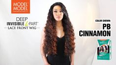 MODEL MODEL Deep Invisible L Part Lace Front Wig Lace Front Wigs, Weave, Deep, Model, Colors, Scale Model, Wigs, Template