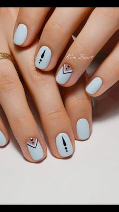 60 Stylish Nail Designs for Nail art is another huge fashion trend besides the stylish hairstyle, clothes and elegant makeup for women. Nowadays, there are many ways to have beautiful nails with bright colors, different patterns and styles. Fancy Nails, Love Nails, Diy Nails, Fabulous Nails, Gorgeous Nails, Pretty Nails, Nagellack Design, Manicure E Pedicure, Cute Nail Designs