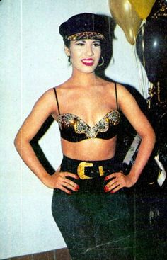 Selena QUINTANILLA-Perez! I use to like seeing her wear this cap!!