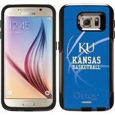University of Kansas Basketball Design on OtterBox Commuter Series Case for Samsung Galaxy S6