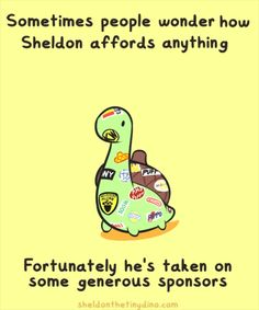 Sheldon the Tiny Dinosaur who Thinks he& a Turtle, , This comic brought to you by Non-prosecutable. Sheldon The Tiny Dinosaur, Turtle Dinosaur, Dinosaur Pics, Fandoms, Funny Cute, Hilarious, 4 Panel Life, Tiny Turtle, Cute Turtles