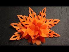 Carrot Flower Lamduan - Beginner's Lesson 9 - Mutita Thai Art of Fruit Vegetable Carving Garnish - YouTube