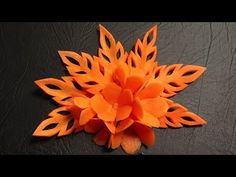 Carrot Flower Lamduan - Beginner's Lesson 9 - Mutita Thai Art of Fruit Vegetable Carving Garnish - YouTube