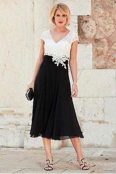 220cd186f7e V-neck Chiffon Mother of the Bride Lace Dress with Cap Sleeves