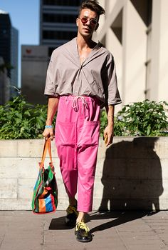 The best street style looks from Men's New York Fashion Week: Day one, Buro 24/7, Buro 24/7