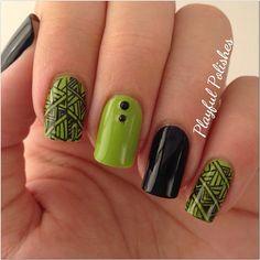 Instagram photo by playfulpolishes  #nail #nails #nailart