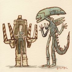Aliens - The Great Showdowns