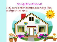 Congratulate A Loved One On Getting A Beautiful New Home. Free Online  Convey Your Happiness Ecards On Congratulations